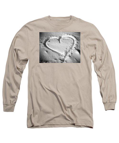 Winter Heart Long Sleeve T-Shirt by Juergen Weiss