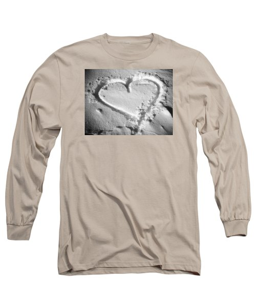 Winter Heart Long Sleeve T-Shirt