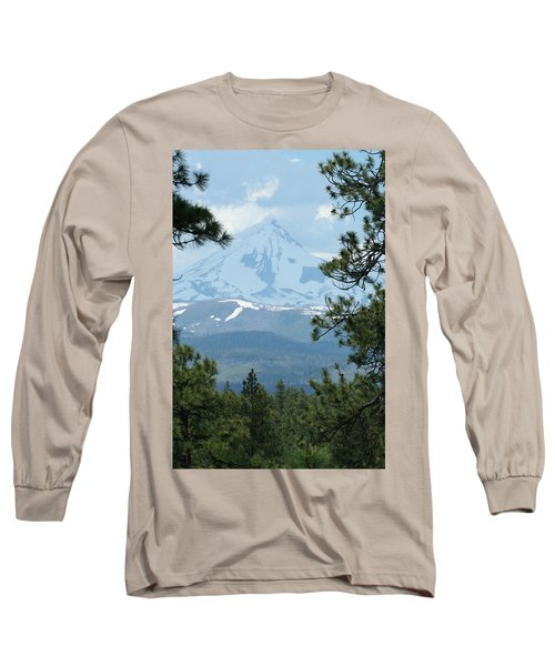 Long Sleeve T-Shirt featuring the photograph Jefferson Pines by Laddie Halupa
