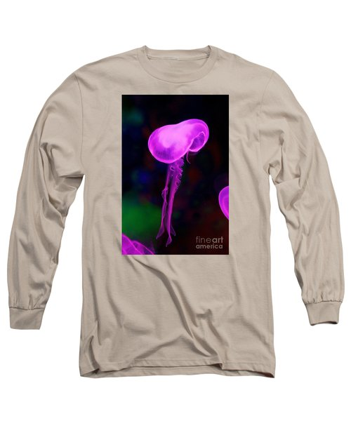 Long Sleeve T-Shirt featuring the photograph Jellies by Gary Bridger