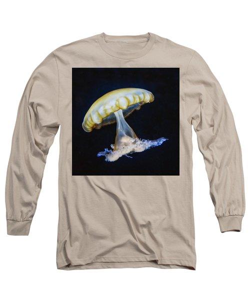 Jellyfish No. 1 Long Sleeve T-Shirt by Alan Toepfer