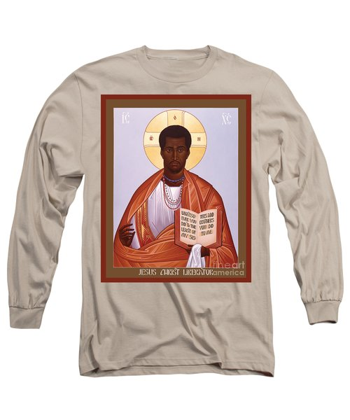 Jesus Christ - Liberator - Rljcl Long Sleeve T-Shirt