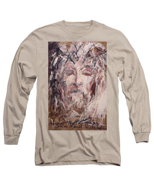 Jesus Christ Long Sleeve T-Shirt by Pierre Van Dijk