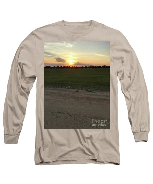 Jesus Healing Sunset Long Sleeve T-Shirt