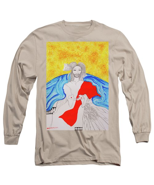 Jesus Messiah Second Coming Long Sleeve T-Shirt