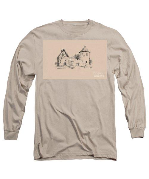 Jesus On Cross Liverpool Long Sleeve T-Shirt