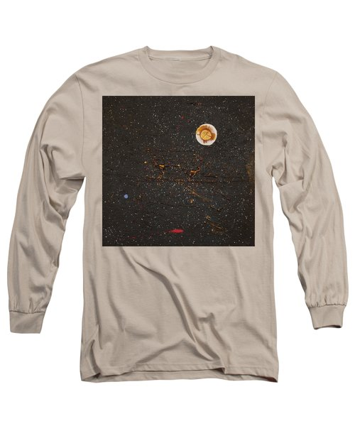 Long Sleeve T-Shirt featuring the painting Jewel Of The Night by Michael Lucarelli