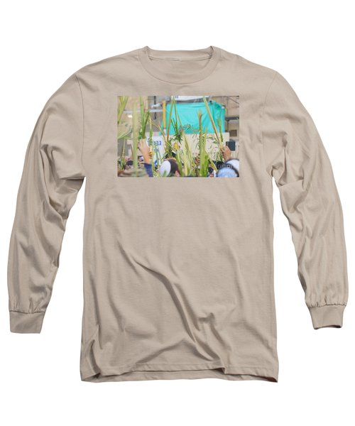 Jewish Sunrise Prayers At The Western Wall, Israel 13 Long Sleeve T-Shirt