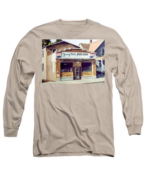 Jimmy The Greek Long Sleeve T-Shirt