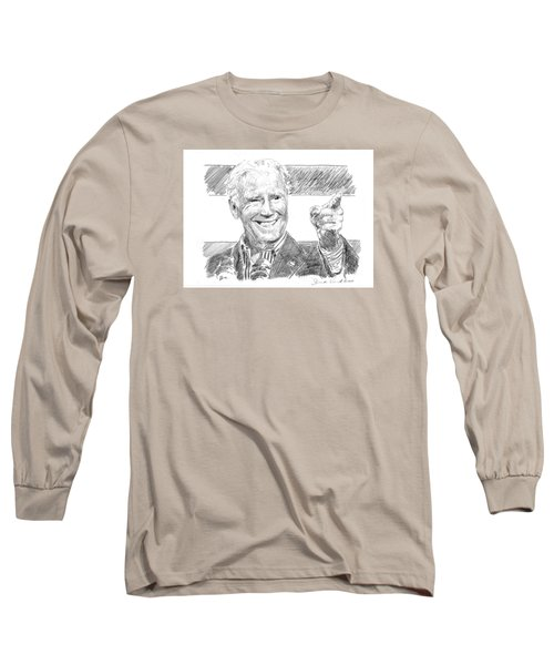 Joe Biden Long Sleeve T-Shirt by Shawn Vincelette