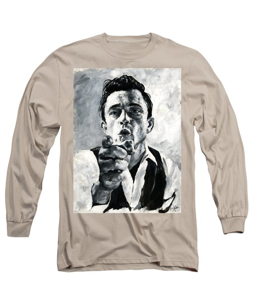 Johnny Cash II Long Sleeve T-Shirt
