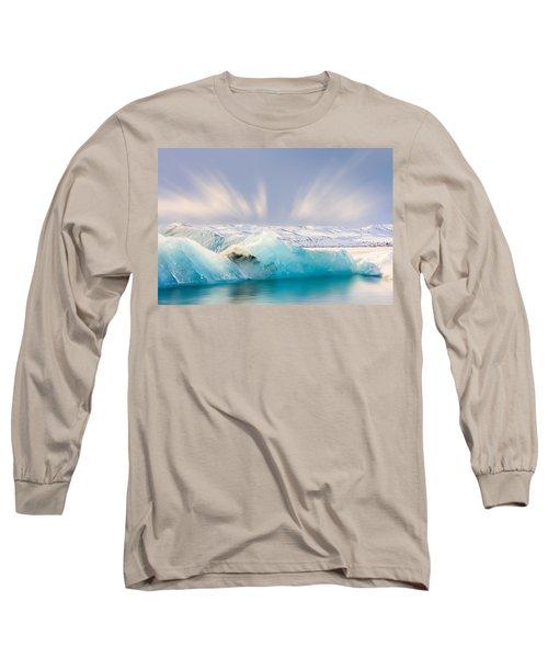 Jokulsarlon Glacier Lagoon Long Sleeve T-Shirt