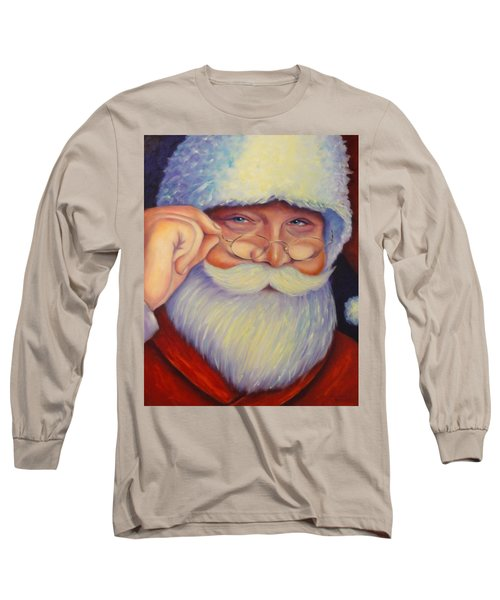 Jolly Old Saint Nick Long Sleeve T-Shirt