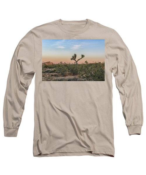 Joshua Tree Evening Long Sleeve T-Shirt