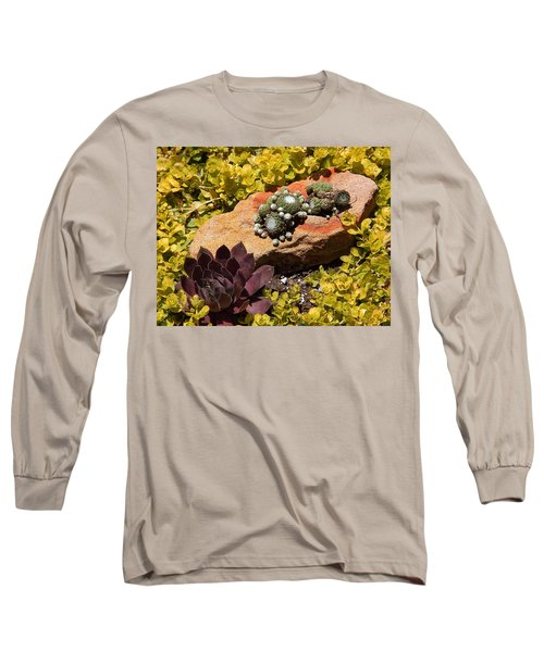 Joyful Living In Hard Times Long Sleeve T-Shirt