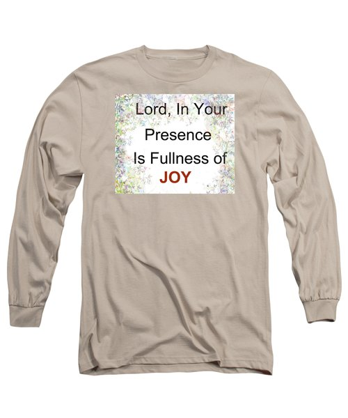 Joys Of Life Long Sleeve T-Shirt by Trilby Cole