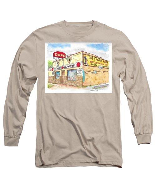 Joe And Aggies Cafe, Route 66, Holbrook, Arizona Long Sleeve T-Shirt