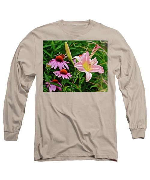 July Lily #10 Long Sleeve T-Shirt
