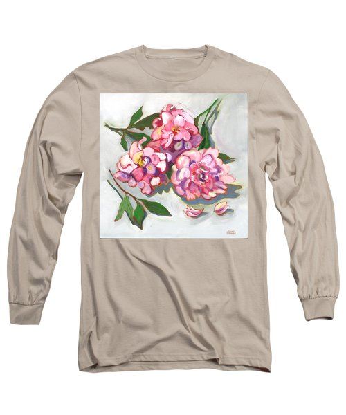 June Peonies Long Sleeve T-Shirt