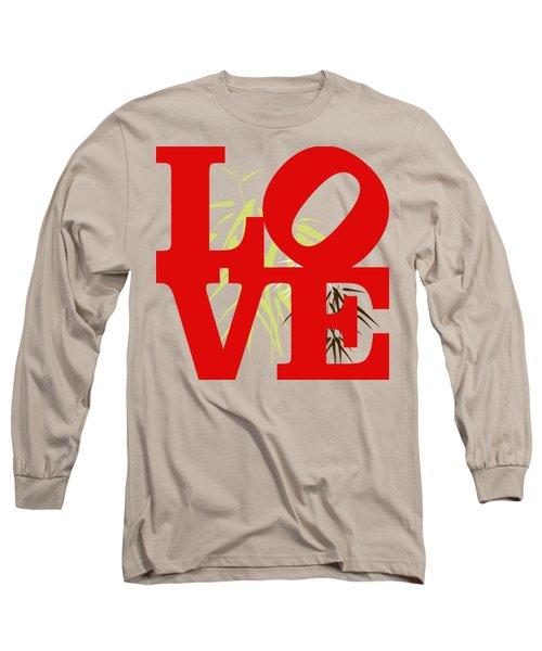 Jungle Love Tee Long Sleeve T-Shirt by Paulette B Wright