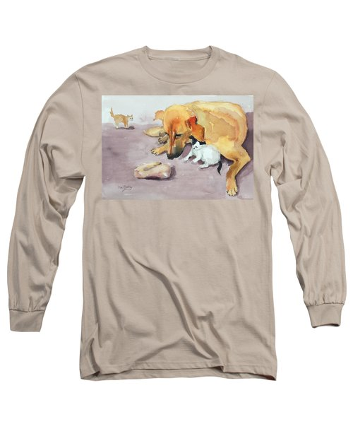 Junior And Amira Long Sleeve T-Shirt