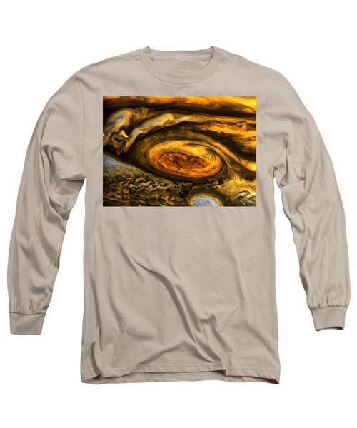 Jupiter's Storms. Long Sleeve T-Shirt