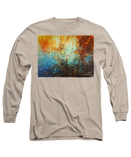 Just A Happy Day Long Sleeve T-Shirt by Delona Seserman