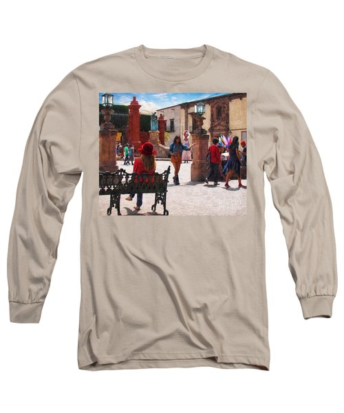 Long Sleeve T-Shirt featuring the photograph Just Before The Wedding by John Kolenberg