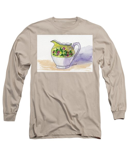 Just Cream No Sugar Long Sleeve T-Shirt