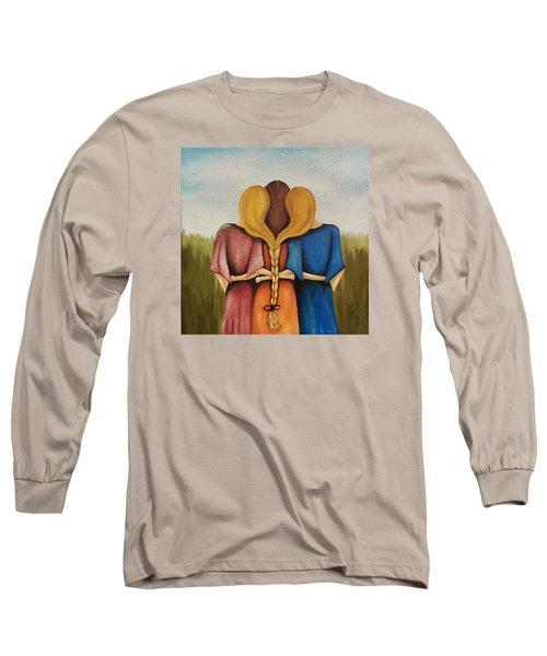 Just One Braid Long Sleeve T-Shirt