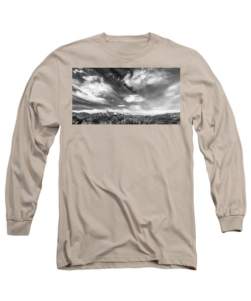 Long Sleeve T-Shirt featuring the photograph Just The Clouds by Jon Glaser