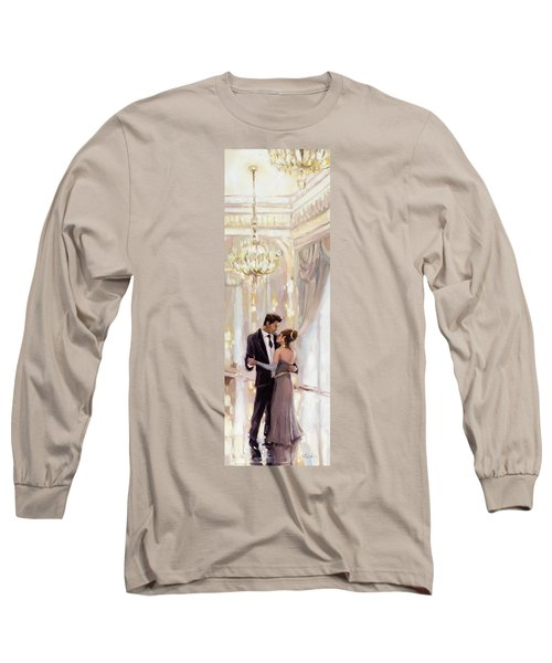 Long Sleeve T-Shirt featuring the painting Just The Two Of Us by Steve Henderson