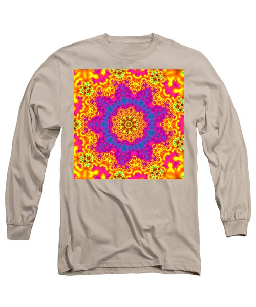Long Sleeve T-Shirt featuring the digital art Jyoti Ahau 83 by Robert Thalmeier