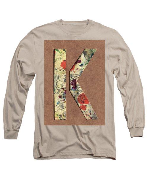 The Letter K Long Sleeve T-Shirt