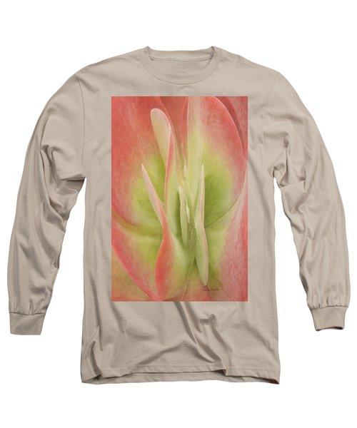 Kalanchoeluciaesucculent Long Sleeve T-Shirt