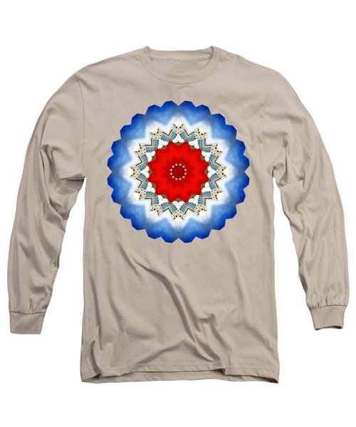 Long Sleeve T-Shirt featuring the photograph Kaleidos - Reykjavik02 by Jack Torcello