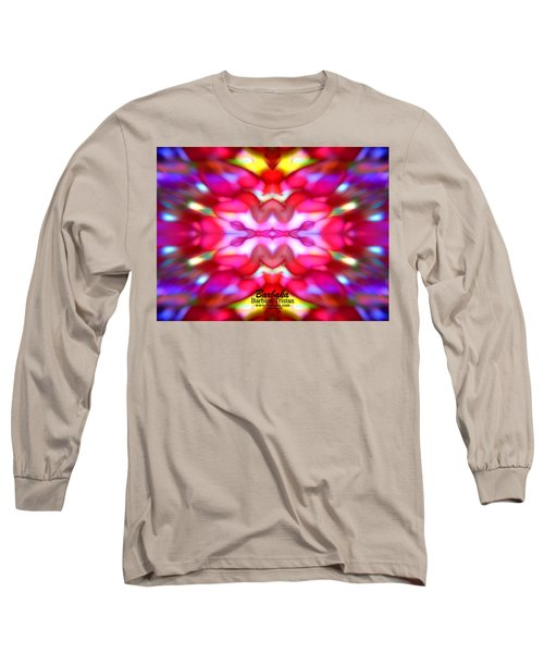Kaleidoscope Wonder Long Sleeve T-Shirt by Barbara Tristan