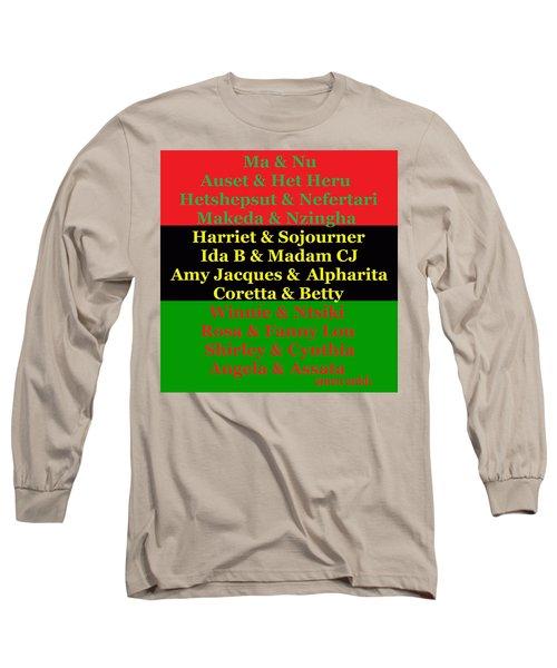 Kandaki Ma 2 Long Sleeve T-Shirt