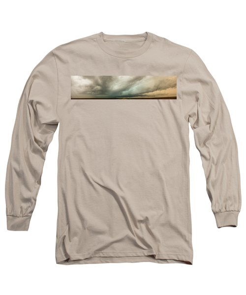 Kansas Storm Chase Bust Day 001 Long Sleeve T-Shirt