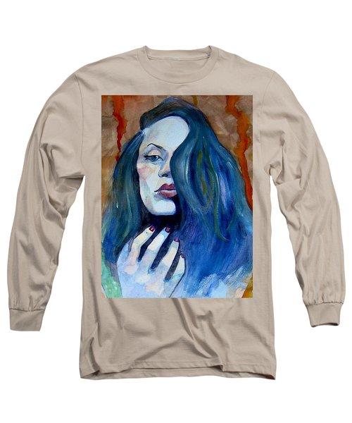 Kasia Ikasia Long Sleeve T-Shirt by Ray Agius
