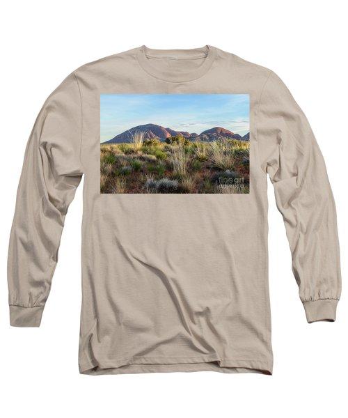 Long Sleeve T-Shirt featuring the photograph Kata Tjuta 04 by Werner Padarin