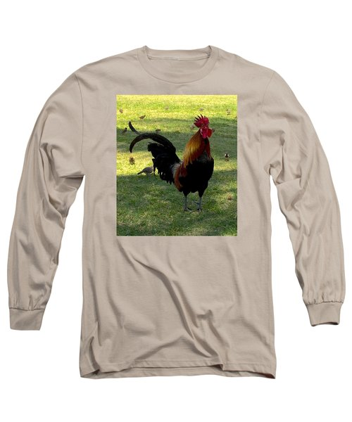 Kauai Alarm Clock Long Sleeve T-Shirt