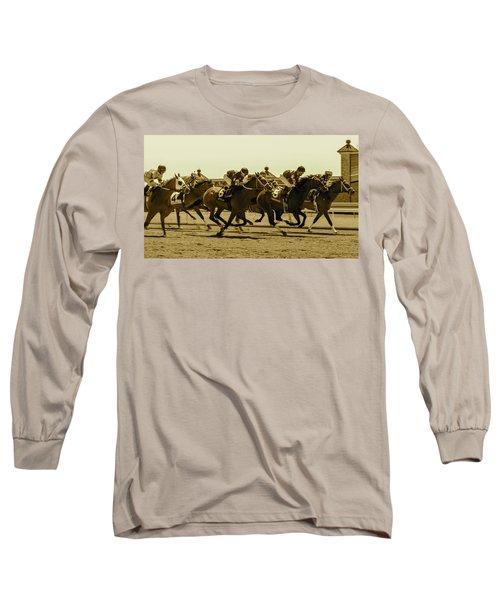 Keenland Sepia Long Sleeve T-Shirt