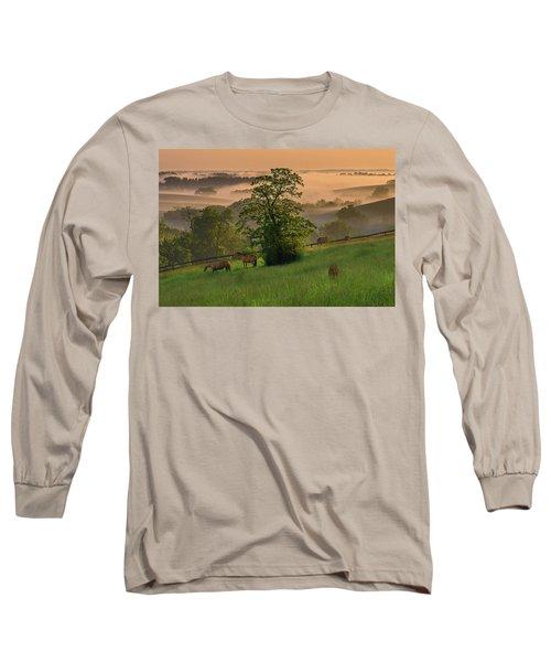 Kentucky Morning Sunshine. Long Sleeve T-Shirt by Ulrich Burkhalter