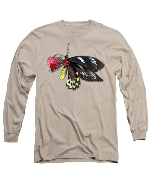 Key West Butterfly 12 Long Sleeve T-Shirt by Bob Slitzan