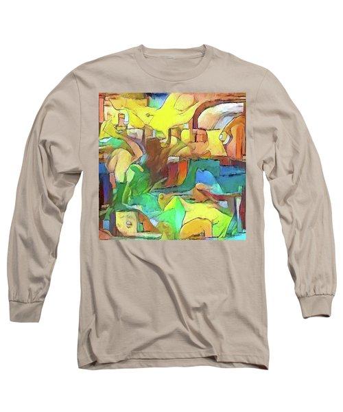Kick The Can Down The Street Long Sleeve T-Shirt
