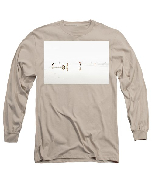 Kids On The Beach 1 Long Sleeve T-Shirt