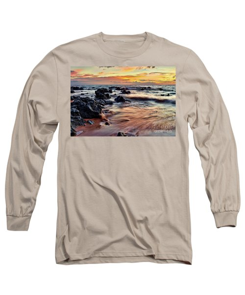 Kihei Sunset Long Sleeve T-Shirt