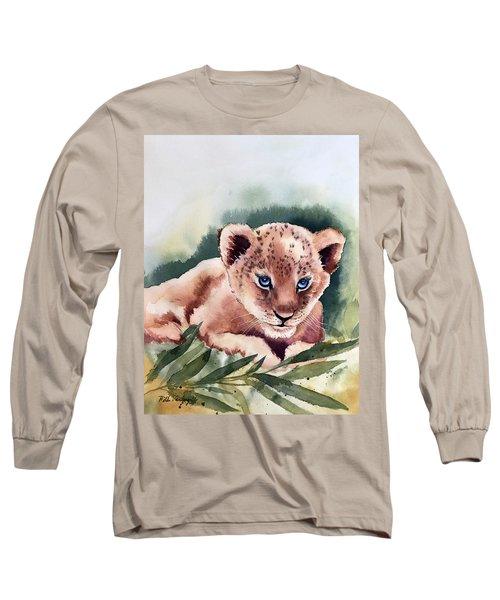 Kijani The Lion Cub Long Sleeve T-Shirt