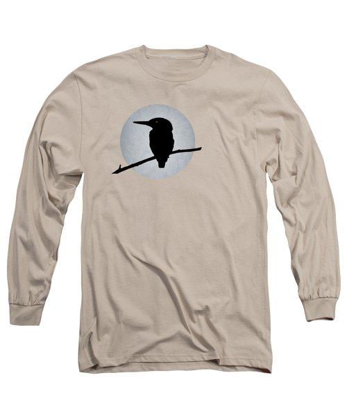 Kingfisher Long Sleeve T-Shirt by Mark Rogan